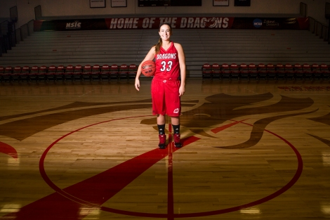 Zabel, a four-year starter for the Dragons, aims to leave her mark on the MSUM women's basketball program.