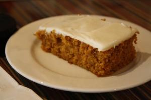 Gluten-free pumpkin bar